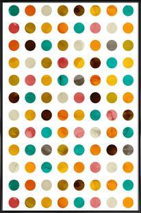 Autumnal Polka Dot