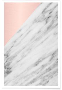 Real Italian Marble and Pink