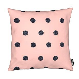 Shiny Polk Dots On Pink