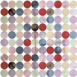 Winter Polka Dots