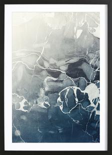 Blue Sea Marble