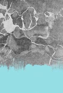 Crayon Marble and Sea Prints