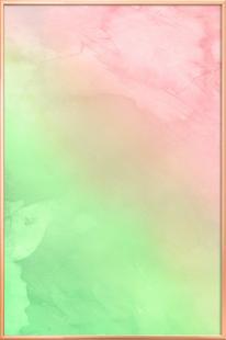 Greenely and Rose Quartz Prints