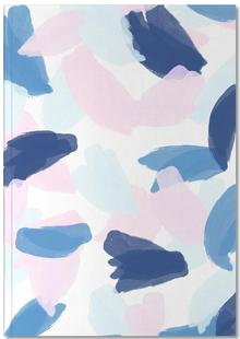 Blue and Pink Paint