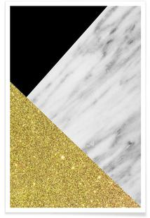 Gold Marble Collage