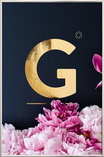 Flower Alphabet G