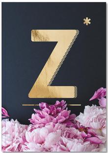Flower Alphabet Z