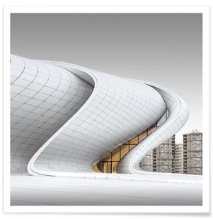 Baku - Heydər Əliyev Mərkəzi - Study 4