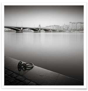 Prague Vlatva River