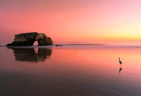 Sunset at the Natural Bridge 2 - Rob Li