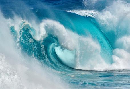 When the Ocean Turns Into Bue Fire - Daniel Montero