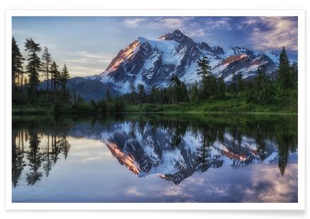 Sunrise on Mount Shuksan - James K. Papp