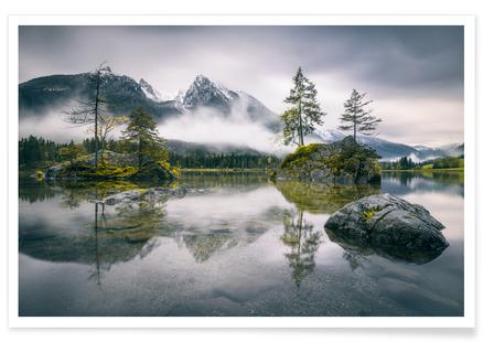 Rainy Morning At Hintersee (Bavaria) - Dirk Wiemer