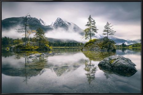 Rainy Morning At Hintersee (Bavaria) - Dirk Wiemer
