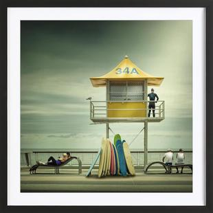 The life guard - Adrian Donoghue
