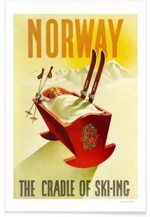 Norway the Cradle of Skiing