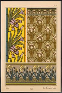Eugene Grasset - Iris 02