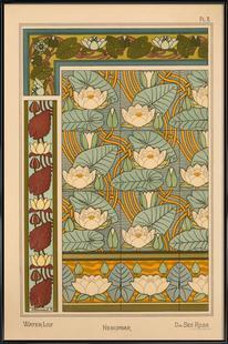Eugene Grasset - Water-Lily 08