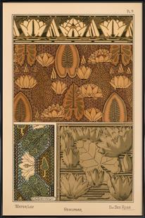 Eugene Grasset - Water-Lily 09