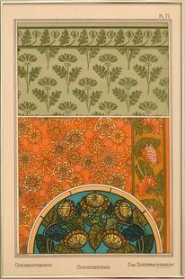 Eugene Grasset - Chrysanthemum 71
