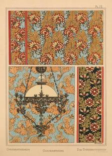 Eugene Grasset - Chrysanthemum 72