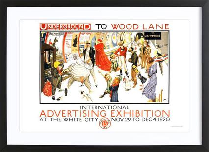 Underground to Wood Lane