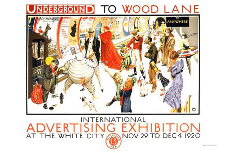Underground to Wood Lane