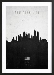 New York City Contemporary Cityscape