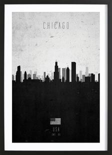 Chicago Contemporary Cityscape