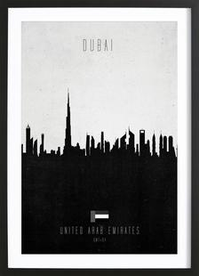 Dubai Contemporary Cityscape