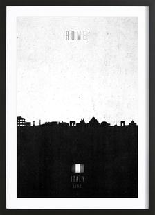 Rome Contemporary Cityscape