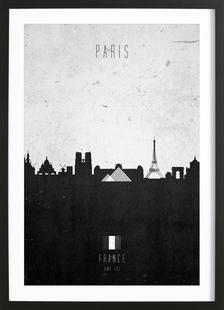 Paris Contemporary Cityscape