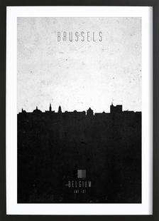 Brussels Contemporary Cityscape