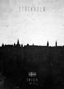 Stockholm Contemporary Cityscape