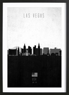 Las Vegas Contemporary Cityscape