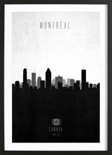 Montreal Contemporary Cityscape
