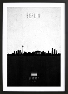 Berlin Contemporary Cityscape