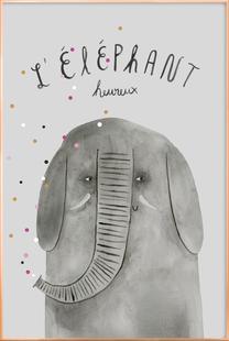 French Animals Elefant