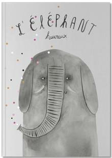 French Animals Elefant