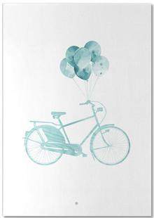 Bike & Balloons | Blue