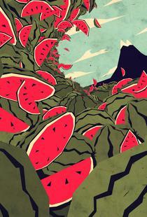 Watermelon surf dream