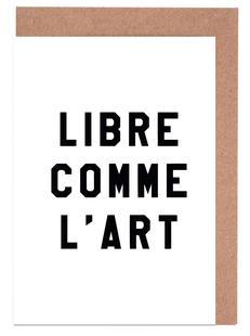 Libre Comme L'Art White
