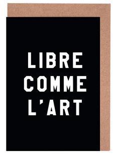 Libre Comme L'Art Black