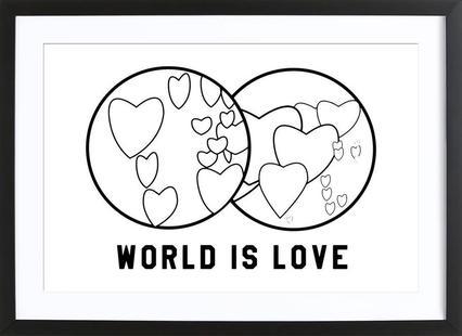 World Is Love White