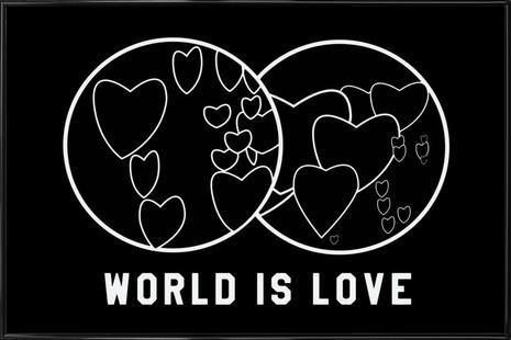 World Is Love Black
