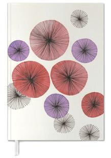 Line Art Blossom red