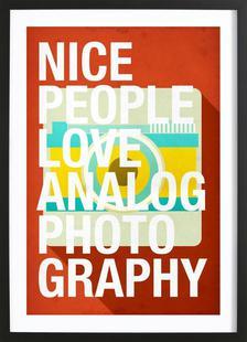 Nice people love analog photos