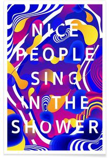 Nice People Sing in the Shower