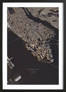 Manhattan City Map I