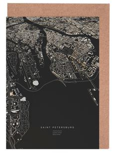Saint Petersburg City Map